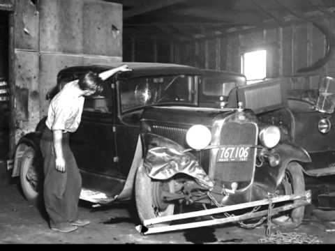 vintage car accident photos old car crashes