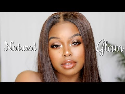 My Go-To Natural Glam Makeup| BEGINNER FRIENDLY| Courtney Bee🐝