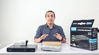 Annke 5MP POE NVR kit N48PAW & I51DJ Unboxing