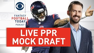 Live PPR MOCK DRAFT With Listeners! How EARLY to Draft RBs? | 2020 Fantasy Football