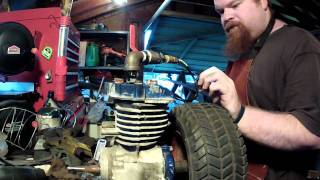 Convert 4 stroke to steam engine part 3