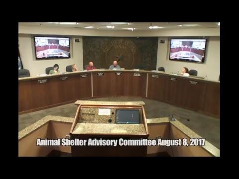 Animal Shelter Advisory Committee