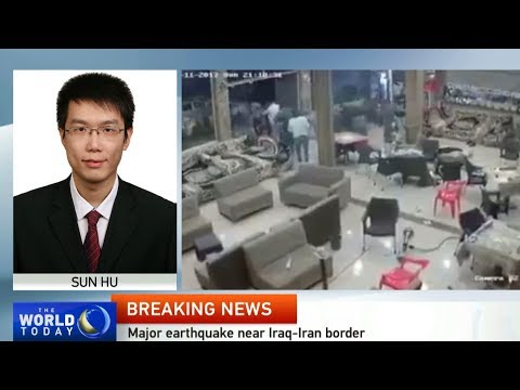 CGTN Baghdad reporter Sun Hu on the latest earthquake news