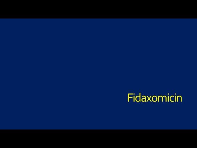 Fidaxomicin for Initial C. difficile Infection-Patient