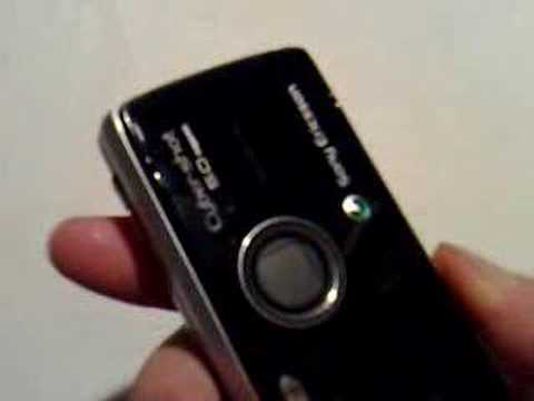 Sony Ericsson K850i in Action / Mediaplayer
