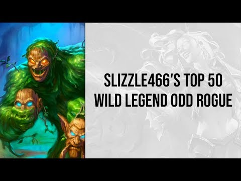 Slizzle466's Top 50 Wild Legend Odd Rogue | Saviors Of Uldum | Hearthstone