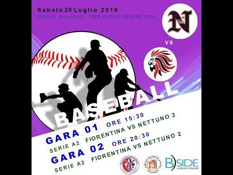 Diretta Baseball Gara 01 - Fiorentina Baseball Vs A.S.D. NETTUNO 2 B.C