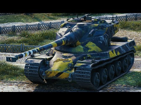 World of Tanks AMX 50 B - 7 Kills 10,1K Damage (1 VS 5)