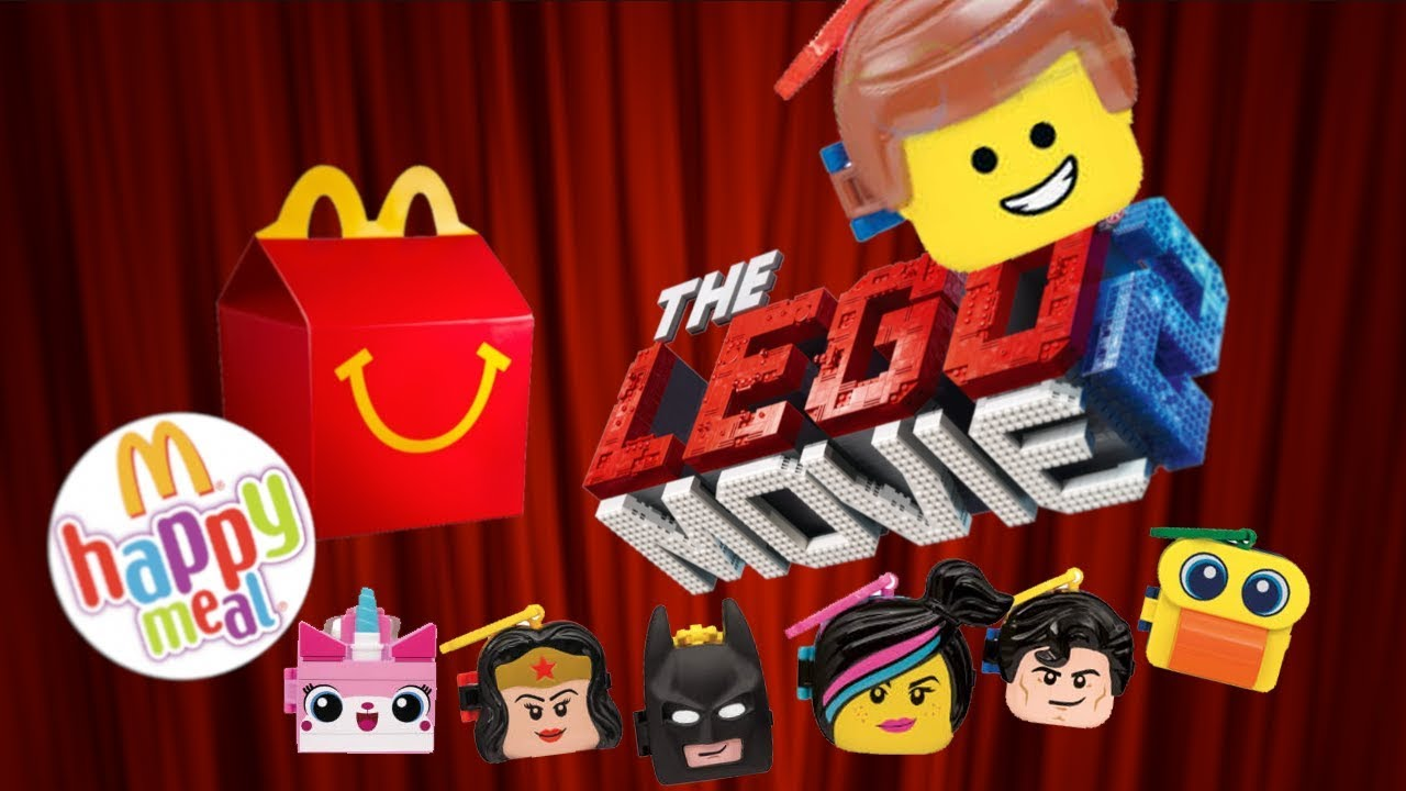 Happy Meal Lego 2019 Indonesia Mcd Toy Review Mainan