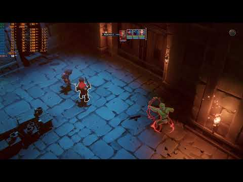 The Dungeon Of Naheulbeuk: The Amulet Of Chaos AMD RX580 Gameplay |