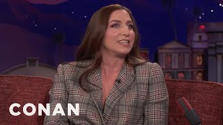 chelsea peretti jordan peele eloped with their dog to big sur conan on tbs