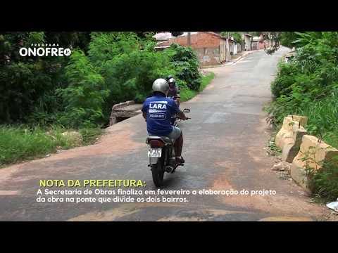 Prefeitura emite nota sobre a ponte que divide os bairros planalto e Novo Horizonte