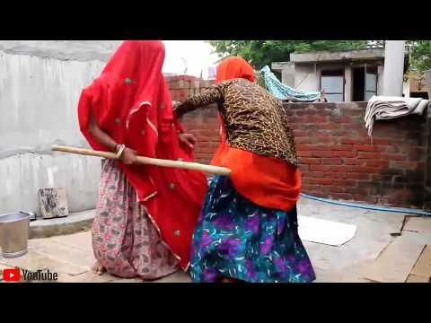सास बहू की लड़ाई राजस्थानी हरियाणवी मारवाड़ी कॉमेडी / हँसी नही रोक पाओगे / New Marwadi Comedy Video
