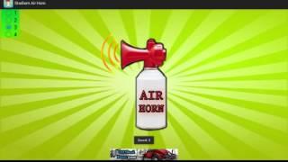 Stadium sir horn sound effect app