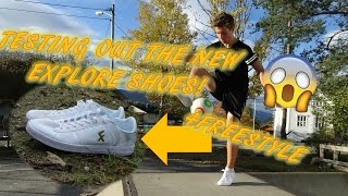 Testing the new 4freestyle explore shoes! best freestyle shoes ever? crazy freestyle skills