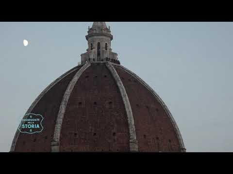 PASSEGGIATE NELLA STORIA - Filippo Brunelleschi E La Cupola Del Duomo (1parte)