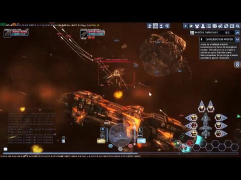 Battlestar Galactica - BSGO - Derrubando Posto Cylonio