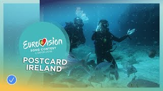 Postcard of Ryan O'Shaughnessy from Ireland - Eurovision 2018