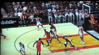 NBA Elite 11 (cancelled) - Full game Gameplay video Heat vs Clippers