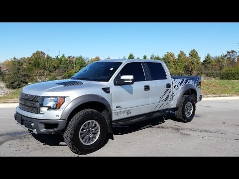 sold.2011 FORD SVT RAPTOR SUPER CREW 6.2L V8 SILVER WITH GRAPHICS FOR SALE CALL 855-507-8520