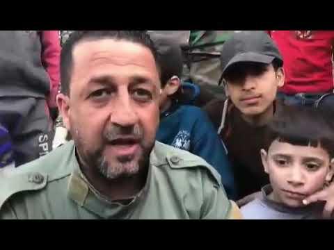doğu gutada zafer kefer batnada halk ve çocukların suriye ordusuna destek ve mutluluğu yaşanıyor