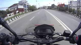 Dashain Road Condition | I Met SMZ | Fast Riding in Beautiful Open Road of Kathmandu