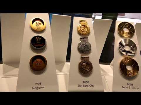 Олимпийский музей в Лозанне. Фильм четвёртый. Олимпийские медали