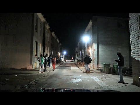 BALTIMORE CITY DANGEROUS AREAS/ BACKSTREETS