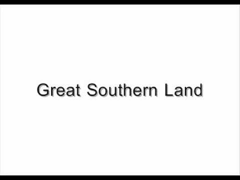 Great Southern Land - Icehouse (Lyrics)