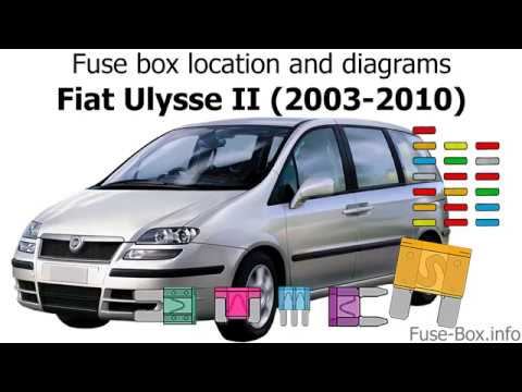 fuse box location and diagrams: fiat ulysse ii (2003-2010)