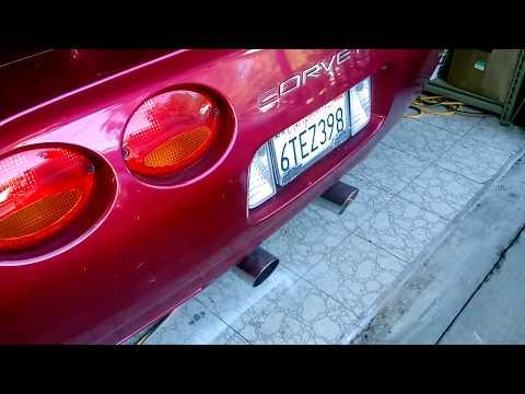 C5 corvette dual exhaust rumble! (Kinda loud)