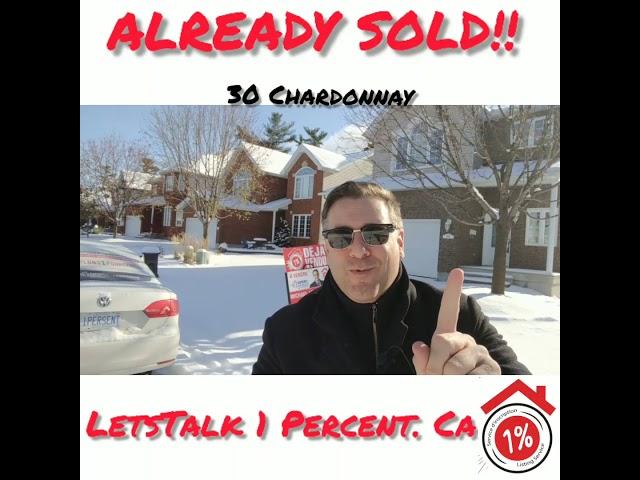 Already sold 30 chardonnay Aylmer qc real estate