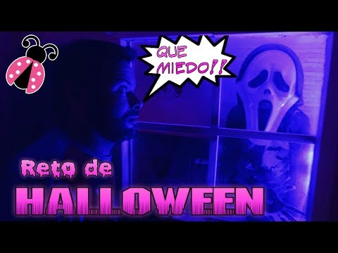 Historia de Halloween en casa encantada 🎃 Mi padre acepta el reto de Halloween