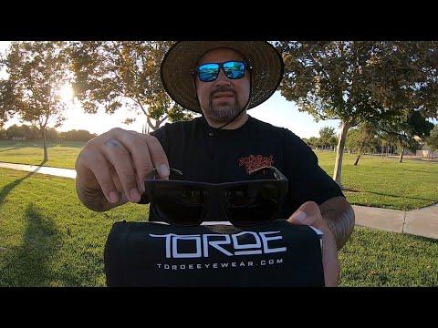 Sponsored Toroe Eyewear Sunglasses Baja Blue Unboxing