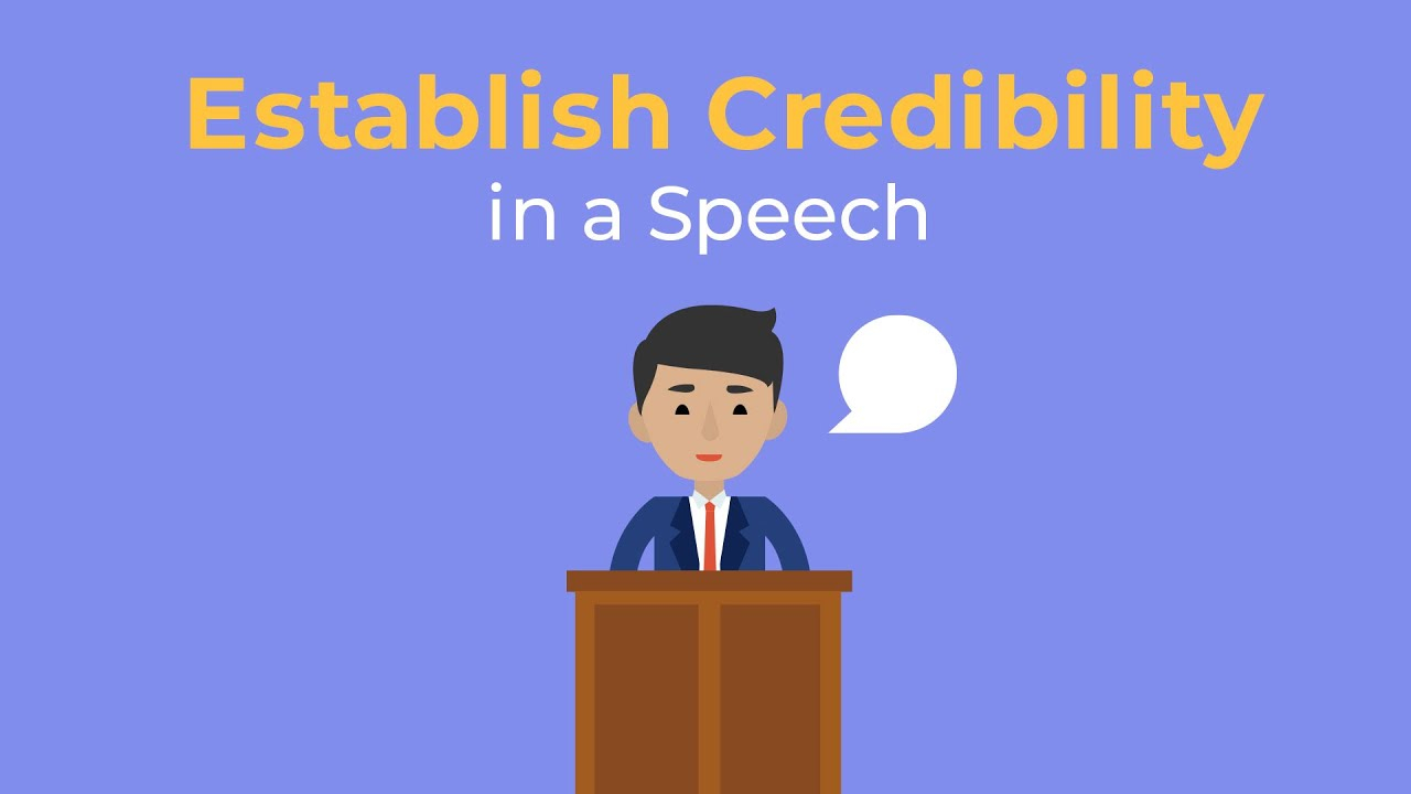 How to Establish Credibility in a Speech | Brian Tracy