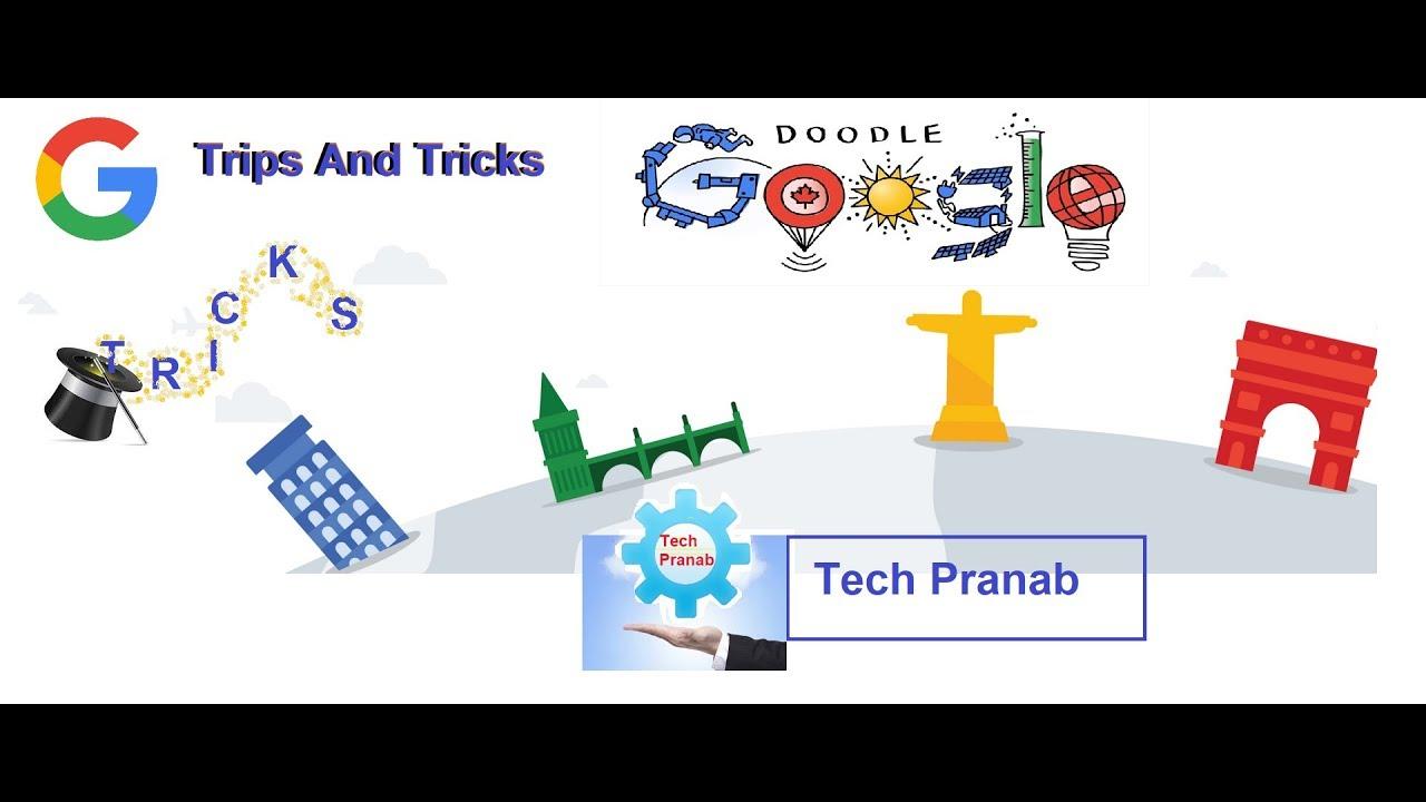 Google New Tricks.Google Doodle Hindi
