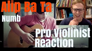 Alip Ba Ta, Numb, Linkin Park, Pro Violinist Reaction