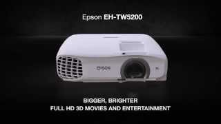 Epson EH-TW5200 Full HD 3D Home Projector