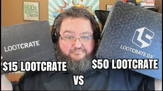 $15 LOOTCRATE VS $50 DOLLAR LOOT CRATE - SEPTEMBER 2017