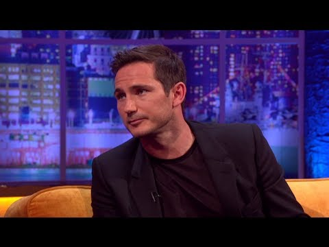 Frank Lampard On Roy Hodgson And Rio 2014 World Cup - The Jonathan Ross Show