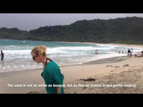 Blue Lagoon Beach Sand Pagudpud Ilocos Norte Hannah's Zipline by HourPhilippines.com