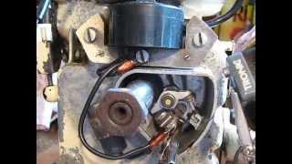 tester allumage bobine moteur Bernard..test bobine a vis platinées ou Electronique..Bernard 328