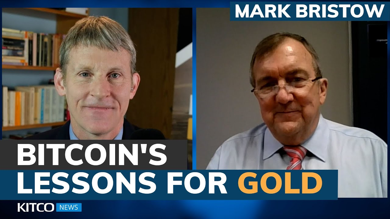 Barrick Gold's Mark Bristow on how to out-flank bitcoin