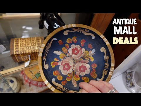 Searching for ANTIQUE MALL DEALS | Shop with Me for Ebay | Reselling