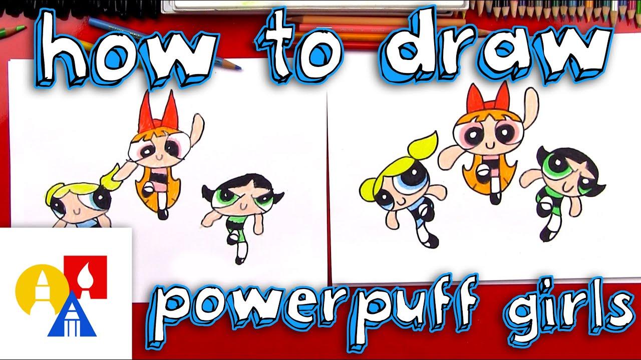 How To Draw The Powerpuff Girls Youtube