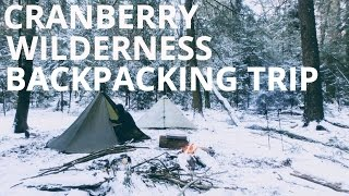 Winter in the Cranberry Wilderness