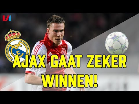 """Scorende Boerrigter in Bernabeu: """"Ajax Gaat ZEKER Winnen van Real Madrid!"""""""