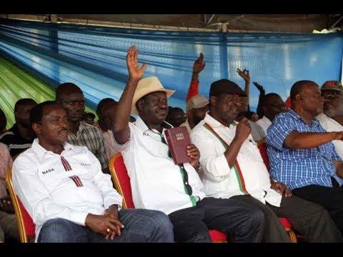 Tussle between Nasa hardliners & moderates threatening Raila Odinga's oath plan