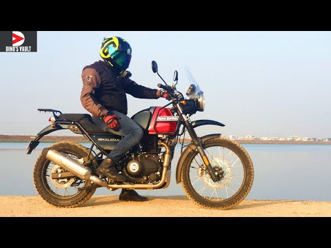 2020 Royal Enfield Himalayan BS6 First Ride Review What's New #Bikes@Dinos