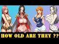 ONE PIECE Character Ages Comparison